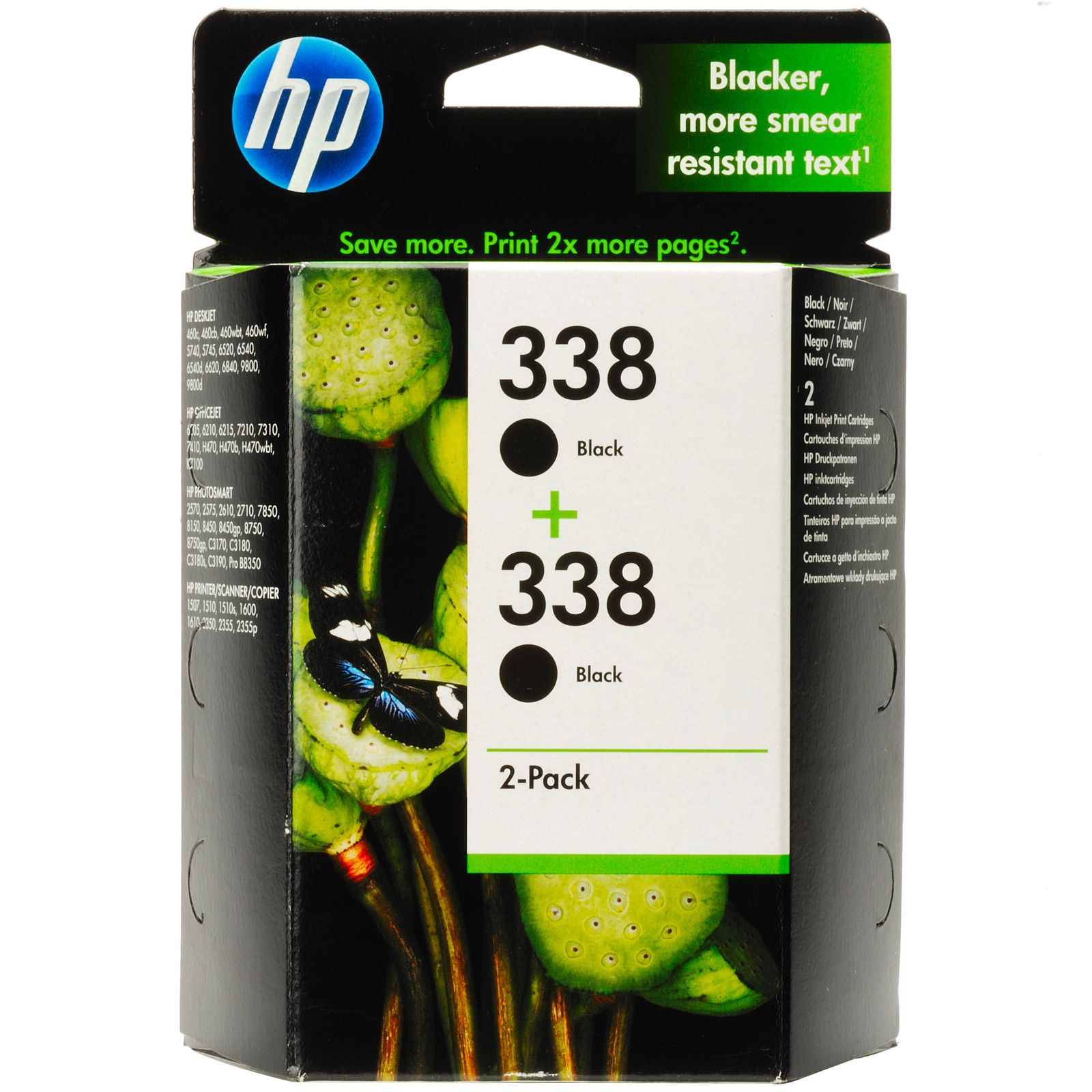 HP CB331 (No. 338) X2 tintapatron HP Photosmart C3170 tintasugaras nyomtatóhoz
