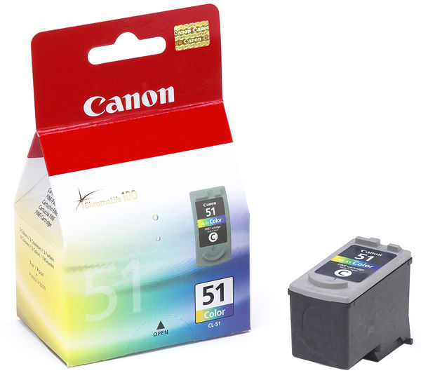 Canon CL 51 tintapatron Canon PIXMA iP6310D tintasugaras nyomtatóhoz