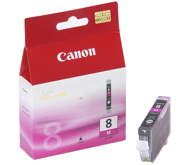 Canon CLI 8 magenta tintapatron Canon PIXMA iP5200 tintasugaras nyomtatóhoz