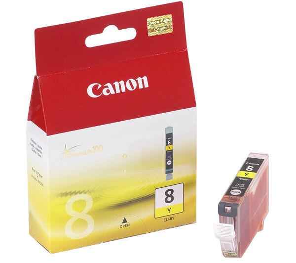 Canon CLI 8 yellow tintapatron Canon PIXMA MP600R tintasugaras nyomtatóhoz