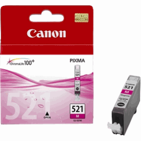 Canon CLI 521M magenta tintapatron Canon PIXMA iP4600X tintasugaras nyomtatóhoz