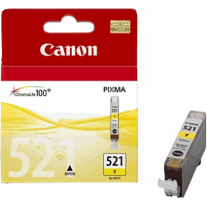 Canon CLI 521Y yellow tintapatron Canon PIXMA iP4600X tintasugaras nyomtatóhoz