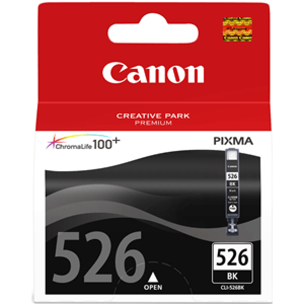 Canon CLI 526B fekete tintapatron Canon PIXMA MG5250 tintasugaras nyomtatóhoz