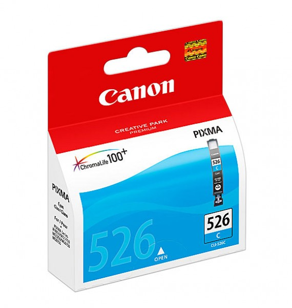 Canon CLI 526C cyan tintapatron Canon PIXMA MG6150 tintasugaras nyomtatóhoz