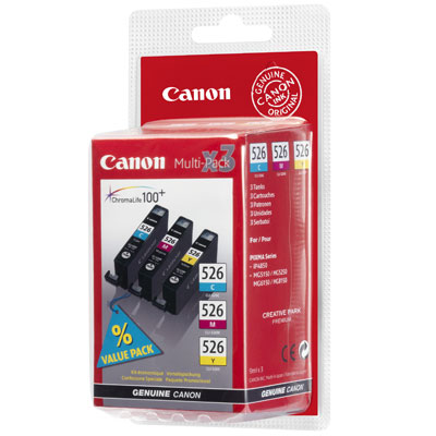 Canon CLI 526CMY multipack