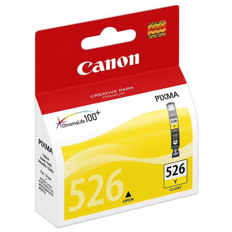 Canon CLI 526Y yellow tintapatron Canon PIXMA MG5250 tintasugaras nyomtatóhoz