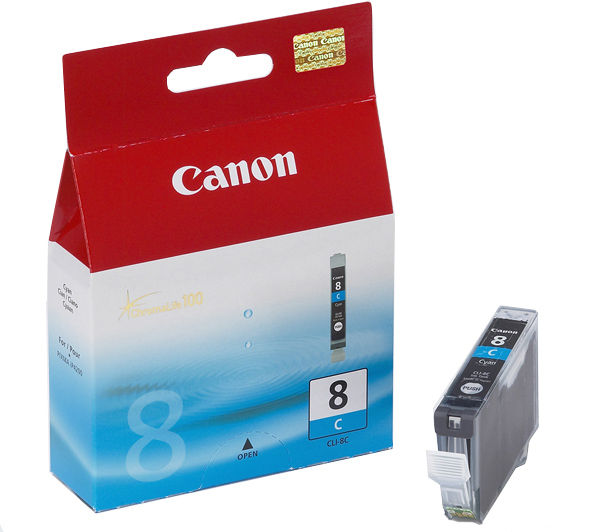 Canon CLI 8 cyan tintapatron Canon PIXMA iP5200 tintasugaras nyomtatóhoz