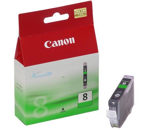 Canon CLI 8 green tintapatron
