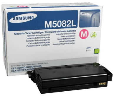 Samsung CLT-M5082L lézertoner magenta Samsung CLP-620 lézernyomtatóhoz