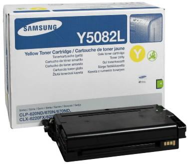 Samsung CLT-Y5082L lézertoner yellow Samsung CLX-6220FX lézernyomtatóhoz