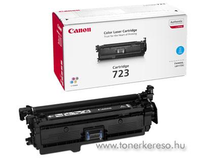 Canon Cartridge 723 Cyan lézertoner Canon i-SENSYS LBP7750Cdn lézernyomtatóhoz
