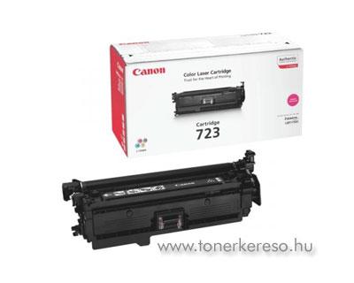 Canon Cartridge 723 Magenta lézertoner Canon i-SENSYS LBP7750Cdn lézernyomtatóhoz