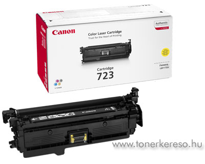 Canon Cartridge 723 Yellow lézertoner