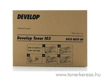 Develop D1300/1320 eredeti black toner 8935807000