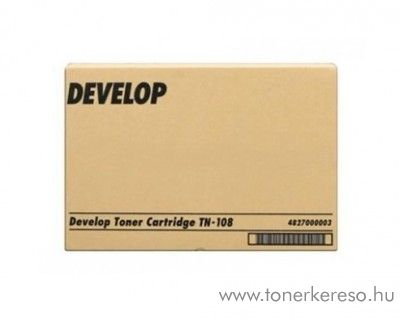 Develop D 13F/131F (TN108) eredeti black toner 4827000003