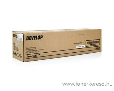 Develop ineo 223/283 (TN217) eredeti black toner A2020D1