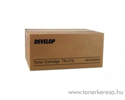Develop ineo 25e (TN219) eredeti black toner 4827000284