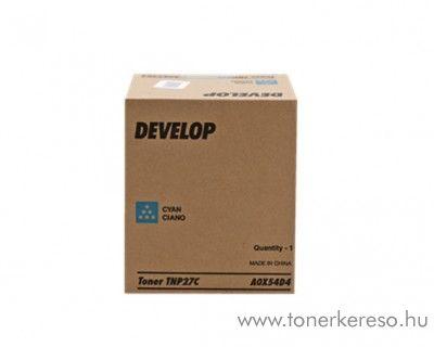 Develop ineo+ 25 (TNP27C) eredeti cyan toner A0X54D4