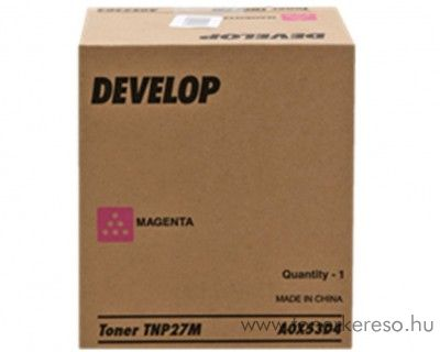 Develop ineo+ 25 (TNP27M) eredeti magenta toner A0X53D4