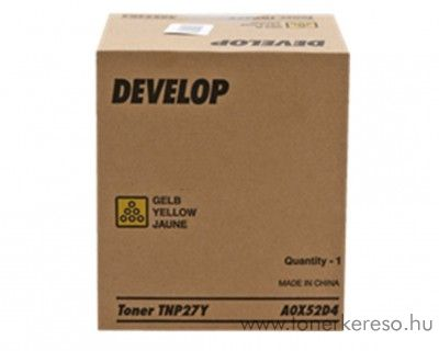 Develop ineo+ 25 (TNP27Y) eredeti yellow toner A0X52D4