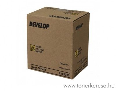 Develop ineo+ 3350/3850 (TNP48Y) eredeti yellow toner A5X02D0