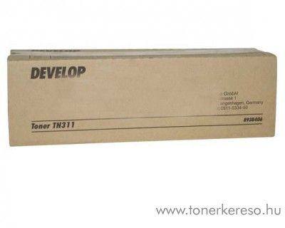 Develop ineo 350/362 (TN311) eredeti black toner 8938406