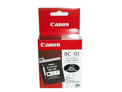 Canon BC 01 Bk tintapatron Canon BJ-5 tintasugaras nyomtatóhoz