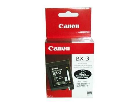 Canon BX 3 tintapatron Canon Fax B110 tintasugaras nyomtatóhoz