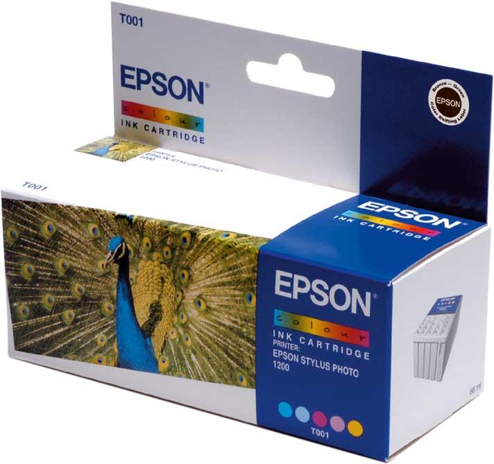 Epson Tintapatron T001011 Epson Stylus Photo 1200 tintasugaras nyomtatóhoz