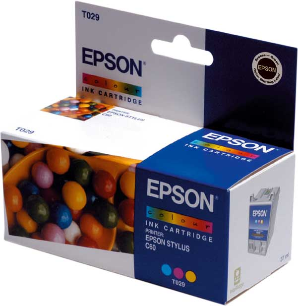 Epson Tintapatron T029401 Epson Stylus C61 tintasugaras nyomtatóhoz