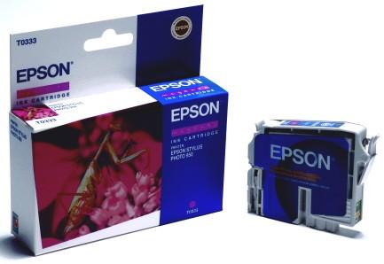 Epson Tintapatron T033340 (Magenta) Epson Stylus Photo 960 tintasugaras nyomtatóhoz