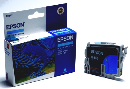 Epson Tintapatron T033240 (Cyan) Epson Stylus Photo 960 tintasugaras nyomtatóhoz