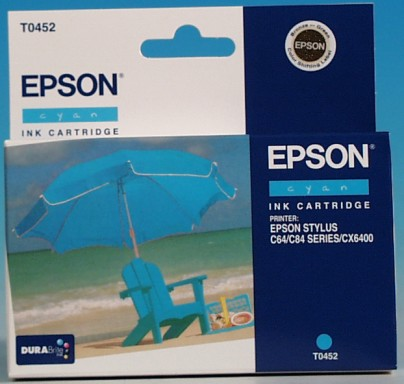 Epson Tintapatron T045240 (Cyan)