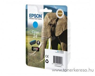 Epson 24 T2422 eredeti cyan tintapatron C13T24224010 Epson Expression Photo XP-860 tintasugaras nyomtatóhoz