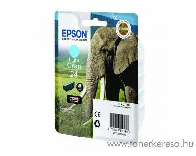Epson 24 T2425 eredeti light cyan tintapatron C13T24254010 Epson Expression Photo XP-55 tintasugaras nyomtatóhoz