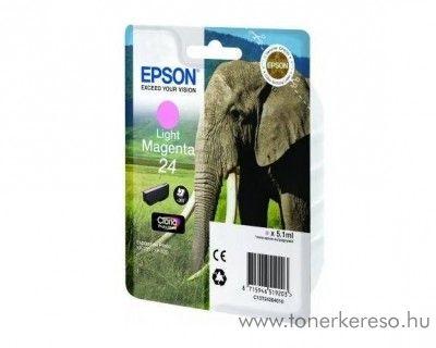 Epson 24 T2426 eredeti light magenta tintapatron C13T24264010 Epson Expression Photo XP-860 tintasugaras nyomtatóhoz