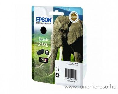 Epson 24XL T2431 eredeti black nagykap. tintapatron C13T24314010 Epson Expression Photo XP-860 tintasugaras nyomtatóhoz