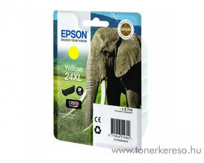 Epson 24XL T2434 eredeti yellow tintapatron C13T24344010 Epson Expression Photo XP-55 tintasugaras nyomtatóhoz