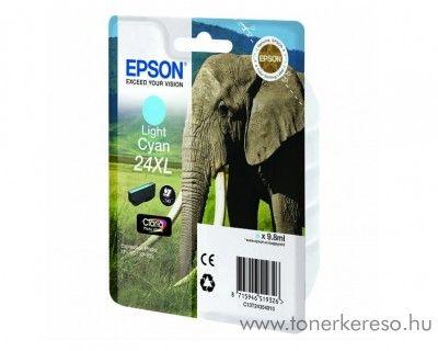 Epson 24XL T2435 eredeti light cyan tintapatron C13T24354010 Epson Expression Photo XP-860 tintasugaras nyomtatóhoz