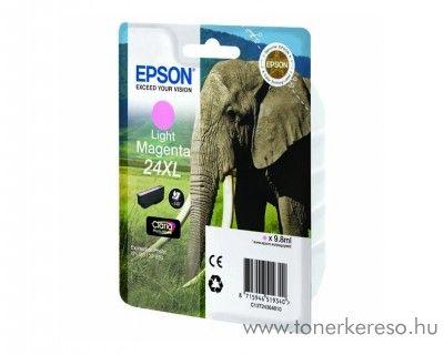 Epson 24XL T2436 eredeti light magenta tintapatron C13T24364010 Epson Expression Photo XP-850 tintasugaras nyomtatóhoz