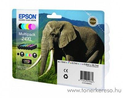 Epson 24XL T2438 eredeti multipack tintapatron C13T24384010 Epson Expression Photo XP-55 tintasugaras nyomtatóhoz