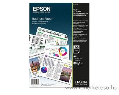 Epson A4 80g-os üzleti célú tintasugaras nyomtató papír 500 lap