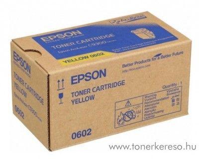 Epson Aculaser C9300n eredeti yellow toner C13S050602