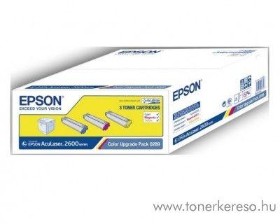 Epson C2600 eredeti kit toner C13S050289 Epson AcuLaser 2600N lézernyomtatóhoz