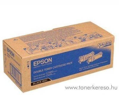 Epson C2900 eredeti dupla fekete black toner C13S050631