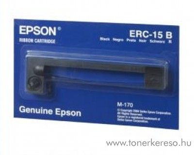 Epson ERC15 eredeti fekete szalag C43S015430 Epson 170 mátrixnyomtatóhoz