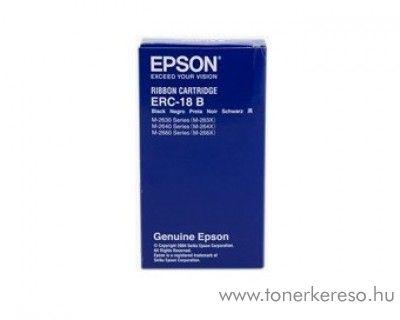 Epson ERC18B eredeti fekete szalag C43S015356 Epson M-2662 mátrixnyomtatóhoz