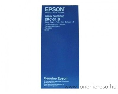 Epson ERC31B eredeti fekete szalag C43S015369 Epson SX 25 TM mátrixnyomtatóhoz