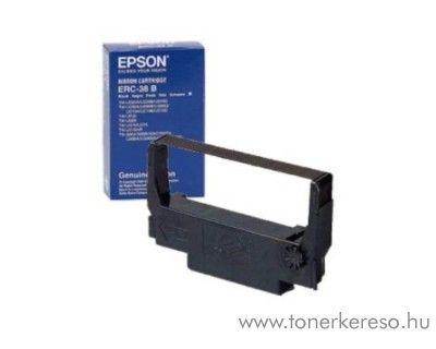 Epson ERC38B eredeti fekete szalag C43S015374 SamsungSRP 270  mátrixnyomtatóhoz