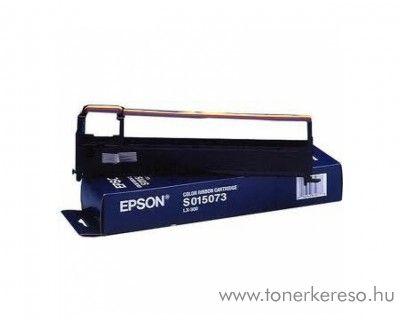 Epson LX300 eredeti színes (CMYK) szalag C13S015073 Epson RX-105 mátrixnyomtatóhoz